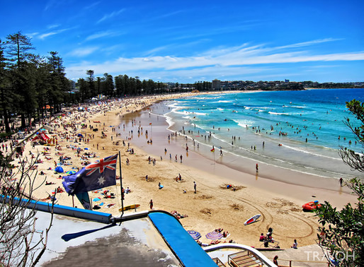Dee Why and Manly Beach, Fall 2017