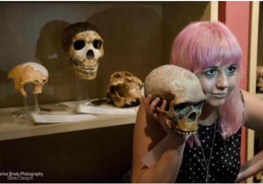 Jurassic Lounge: Halloween by Gabe Merkel, Alt Media Newspaper (Sydney)