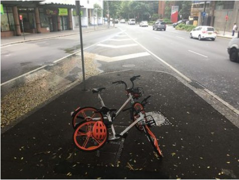 Bikes are a shared problem by Staton Whaley, Alt Media Newspaper (Sydney)