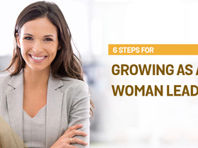6 Steps for Growing as a Woman Leader