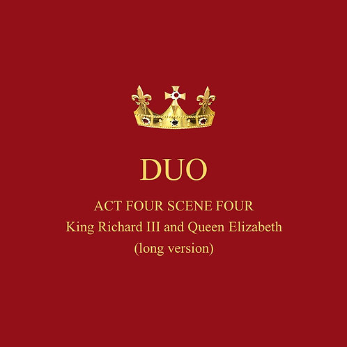 King Richard III and Queen Elizabeth