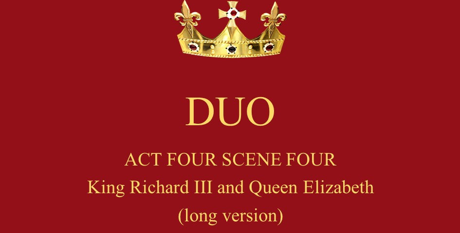 King Richard III and Queen Elizabeth
