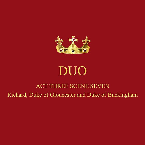 King Richard III and Buckingham