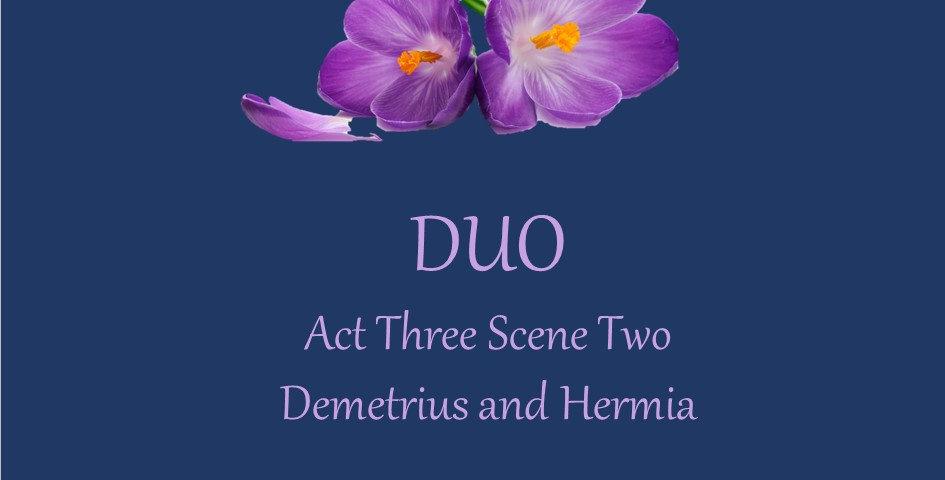 Hermia and Demetrius