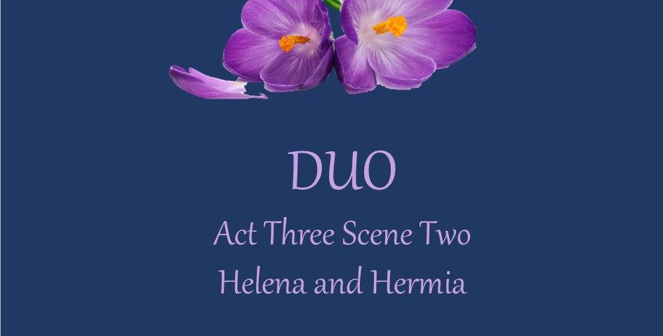 Helena and Hermia