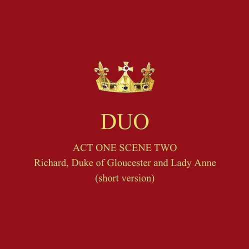 Richard, Duke of Gloucester and Lady Anne