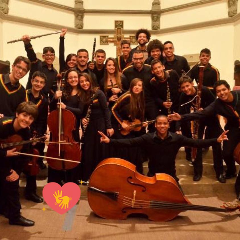 Orquestra Jovem Paquetá e Tim Rescala | Concerto Projeto Bem Me Quer Paquetá (com libras)