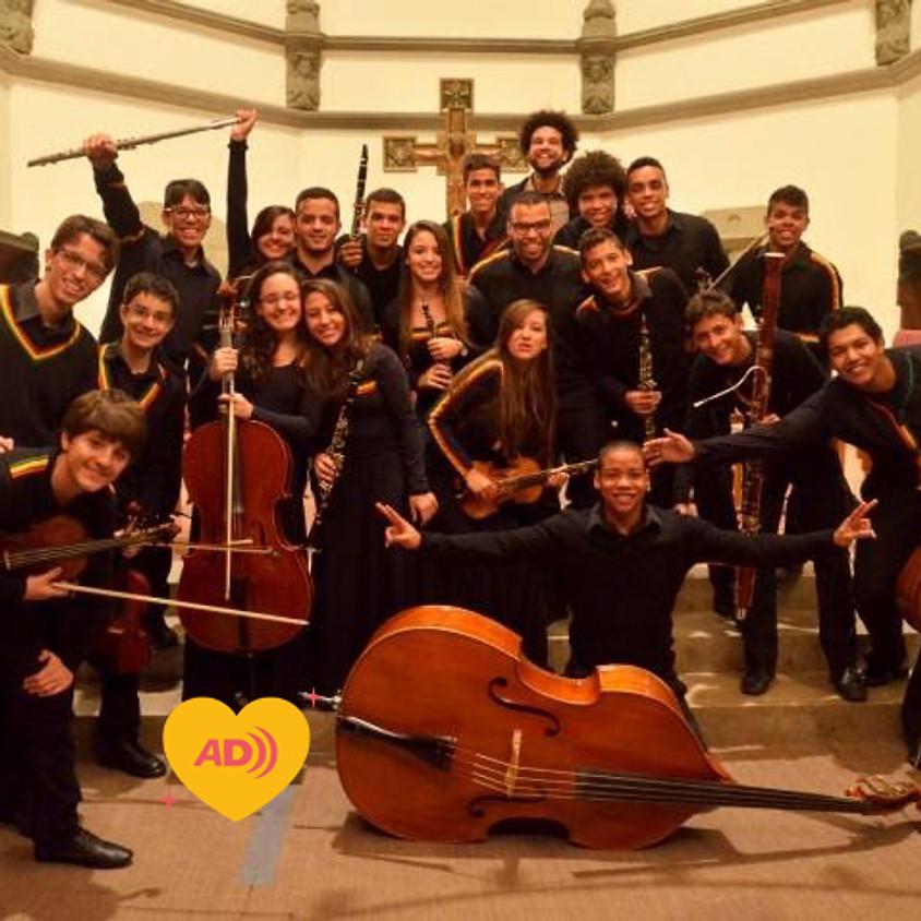 Orquestra Jovem Paquetá e Tim Rescala | Concerto Projeto Bem Me Quer Paquetá (com audiodescrição)
