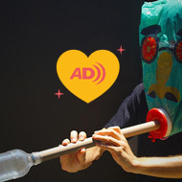 Adriano Castelo Branco | Oficina Criaturas Instrumentosas e Máscaras Sonéticas (com audiodescrição)