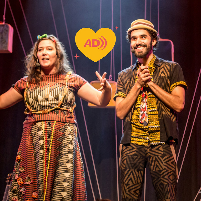 Mundo Aflora | Show Meia Volta e Meia (com audiodescrição)