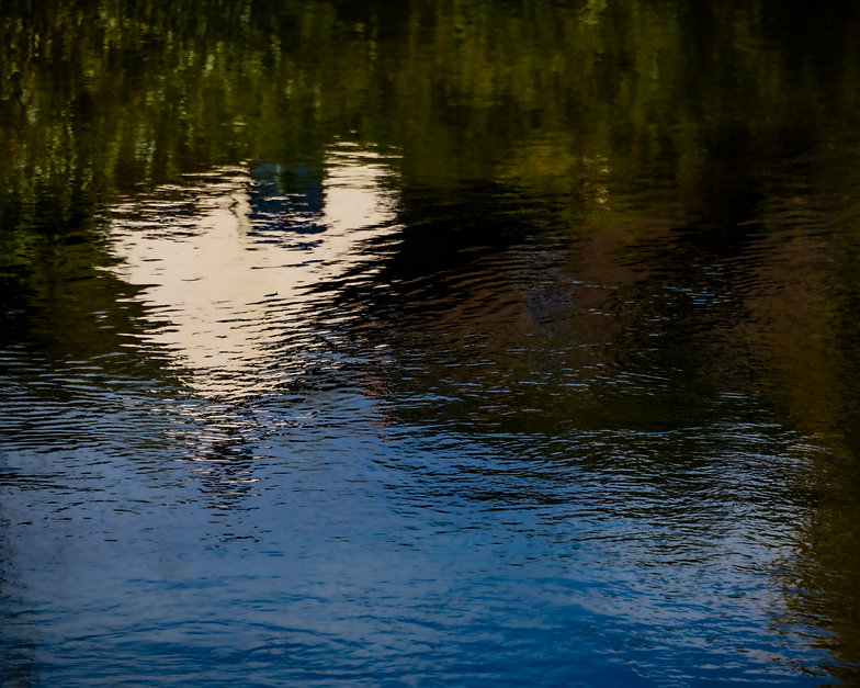 River Stour reflection