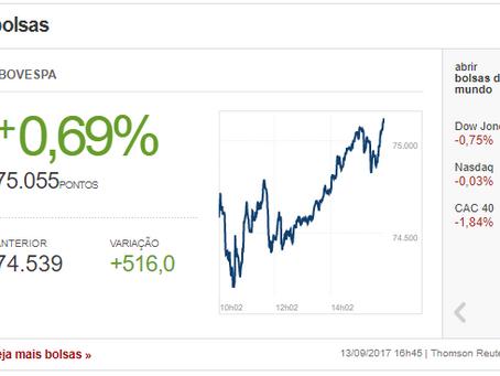 A Bolsa de Valores está em alta, o número de investidores está aumentando. Você está  preparado? Ou