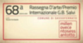 68° Rassegna internazionale d'arte Premio G.B. Salvi Svea Bischoff Segnalazione