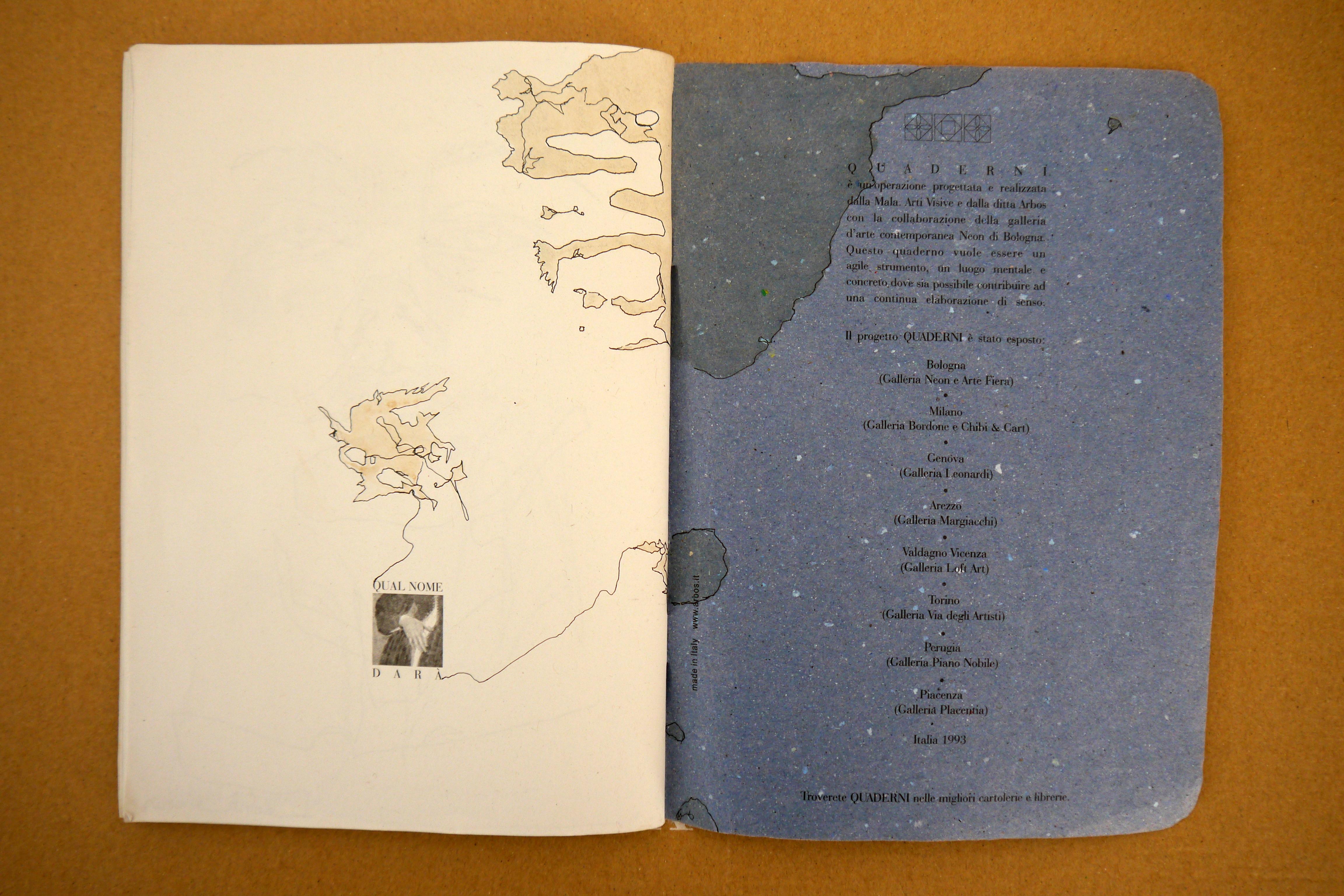 Blue Book Svea Bischoff Sketching