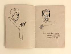 Svea Bischoff Brown Book Sketching