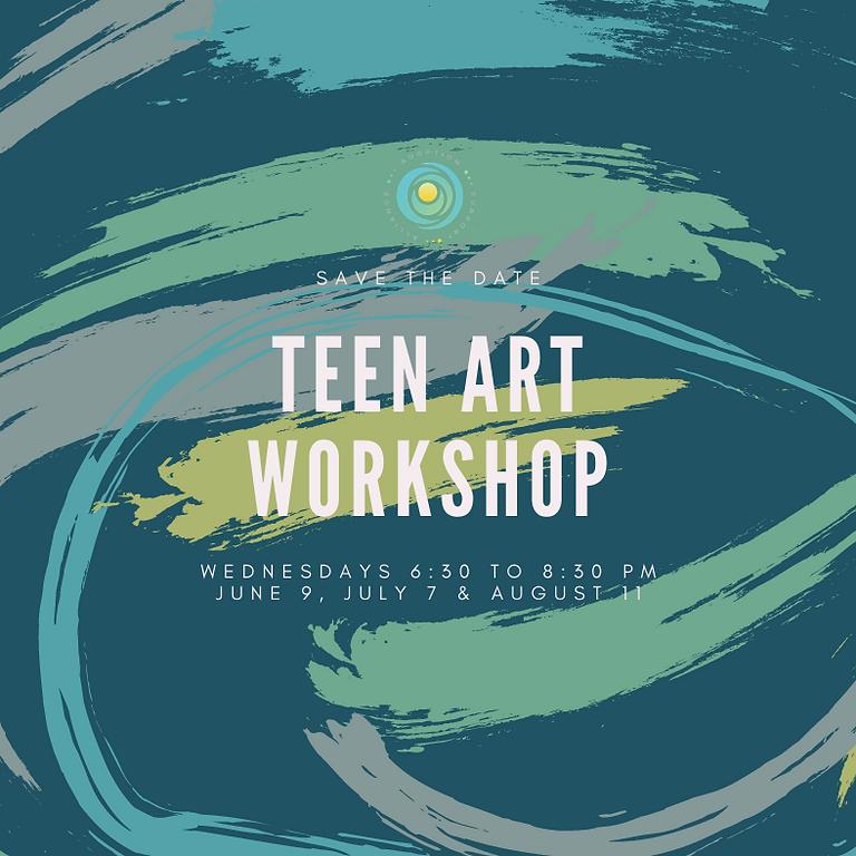 Teen Art Workshop: August 2021