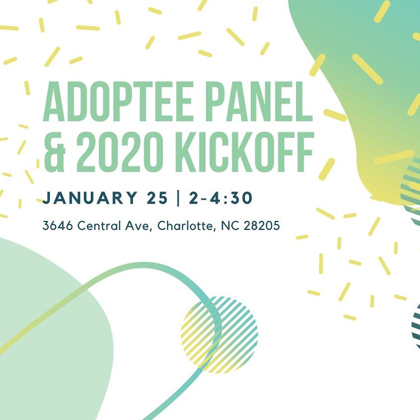 Adoptee Panel & 2020 Kickoff