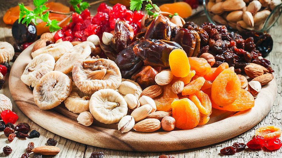 Common_fig_Apricot_Nuts_Raisin_Dried_fru