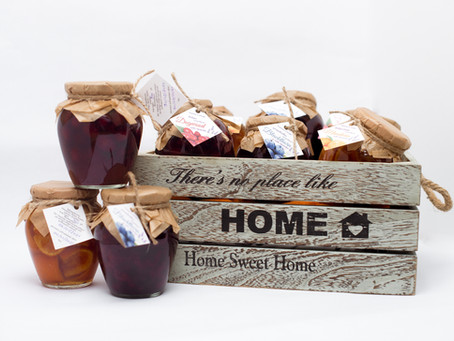 We made these preserves from local products