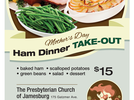 Mother's Day Ham Dinner Take-out