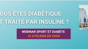Webinar Sport et diabète