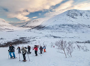 SnowShoes 雪鞋徒步