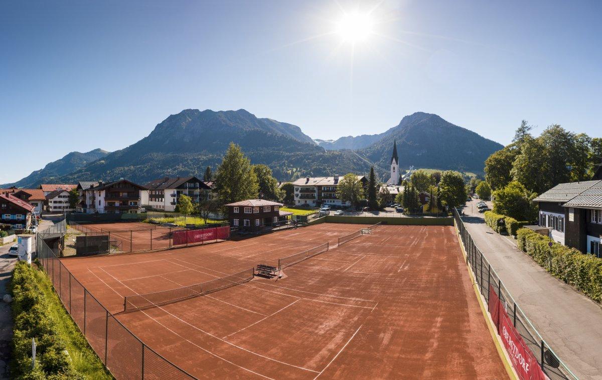 Platzmiete Tennisplätze am Fuggerpark 1h