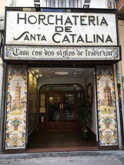 HORCHATERIA DEL SANTA CATALINA