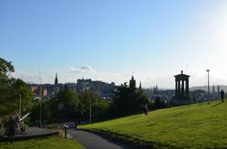 6_-_Edimburgo_-_il_centro_città_visto_da