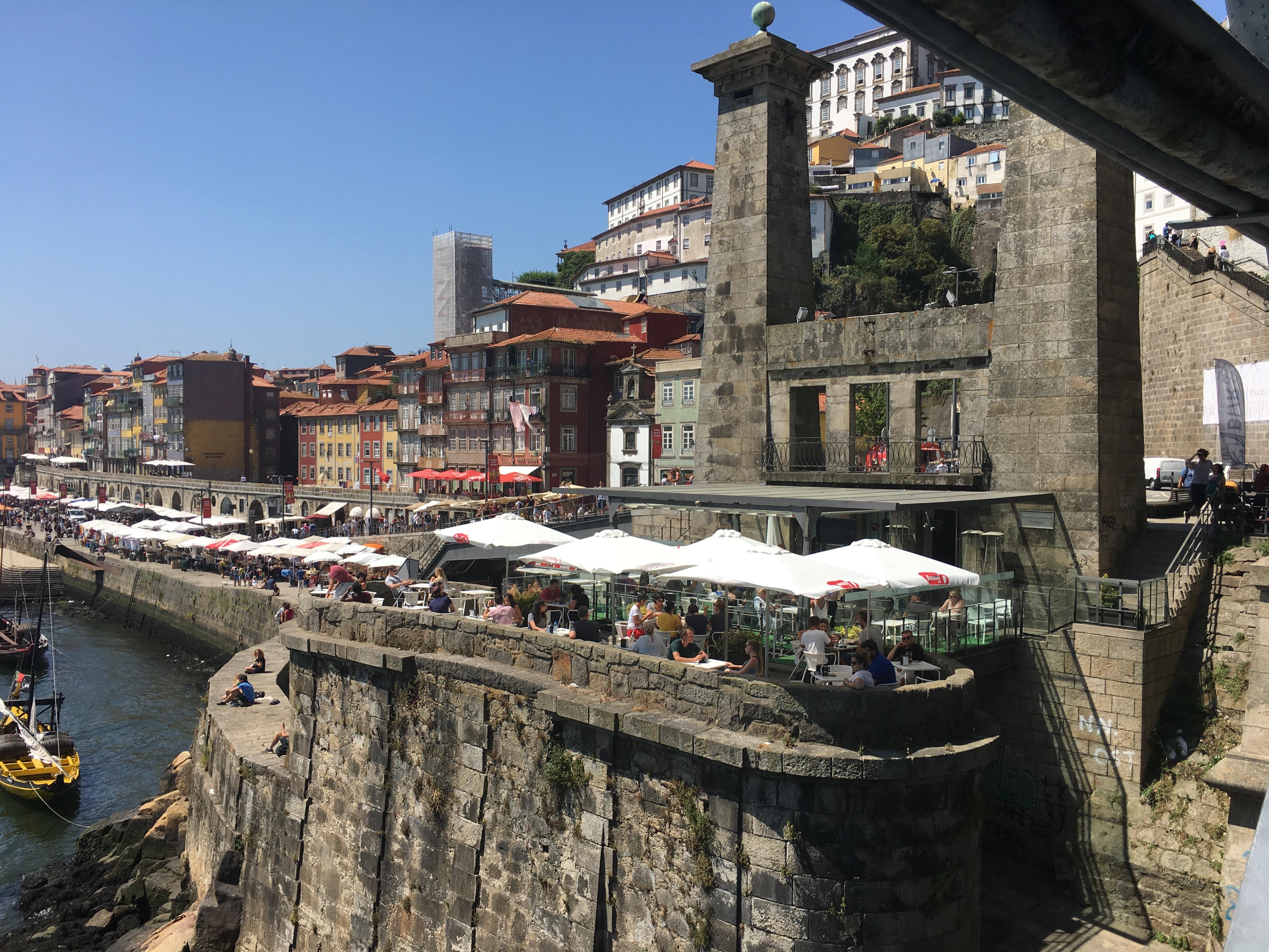 Il vivace lungo Douro di Porto