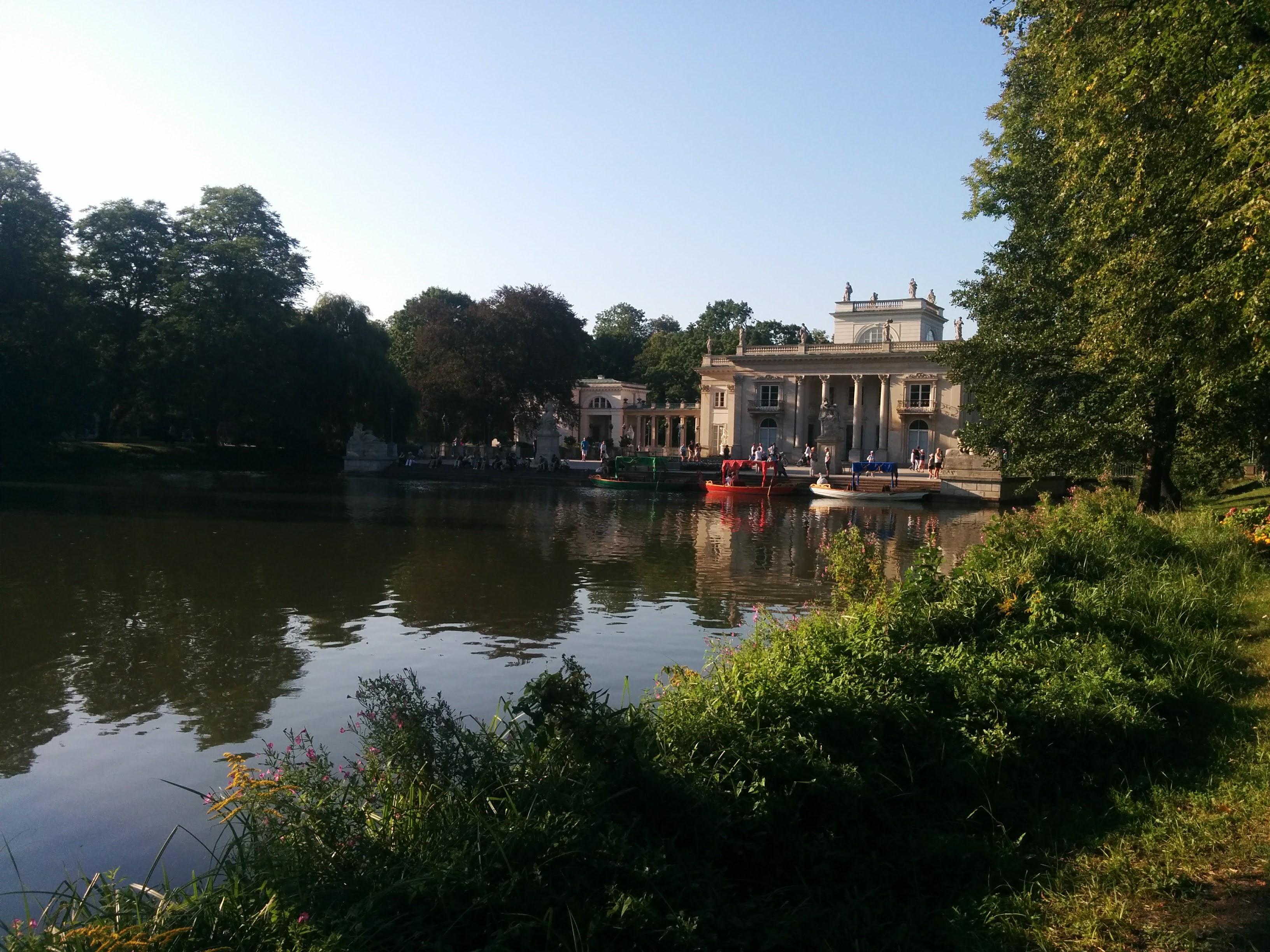 Uno scorcio del Palazzo sull'acqua