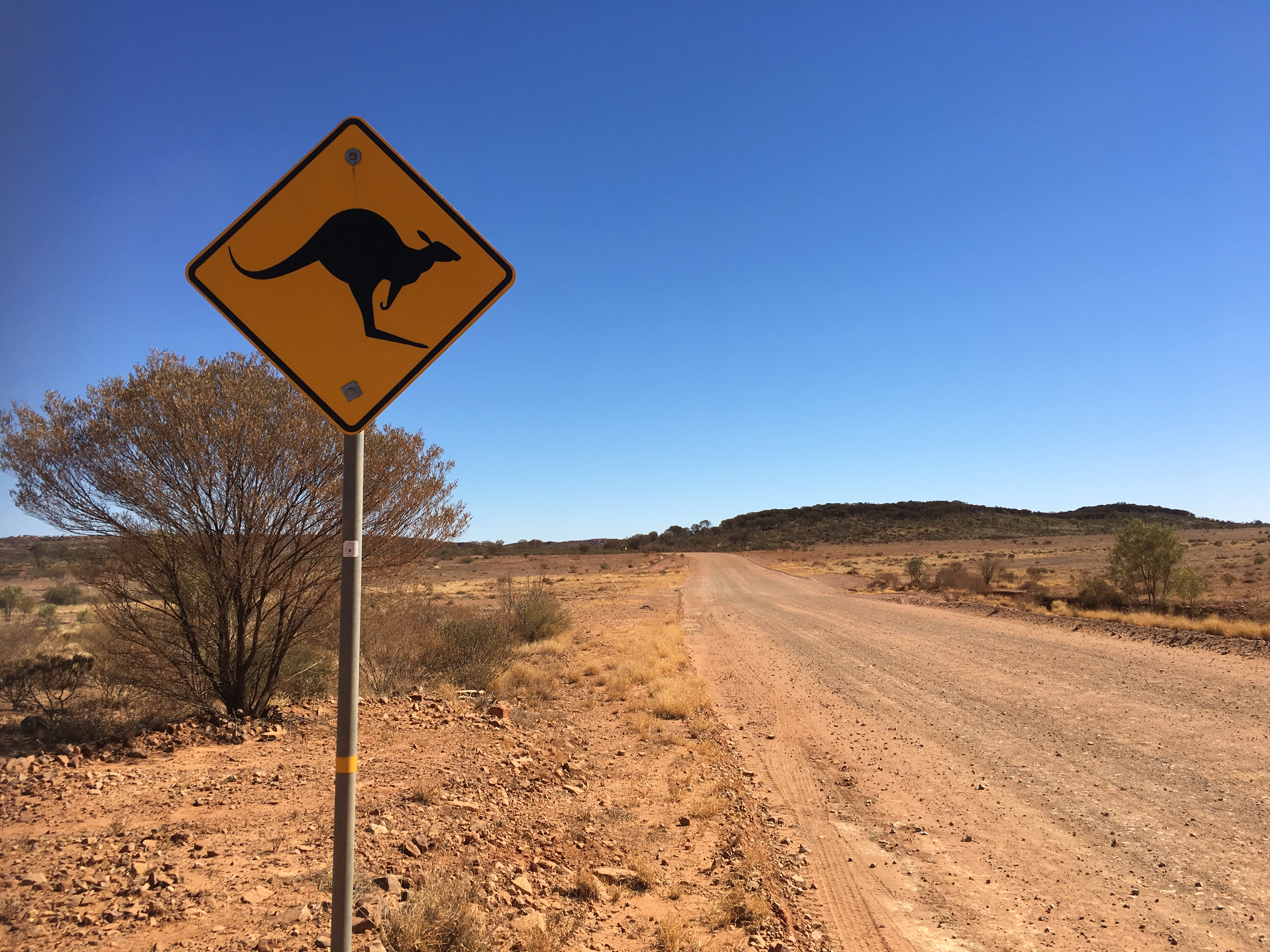 STRADE STERRATE DELL'OUTBACK
