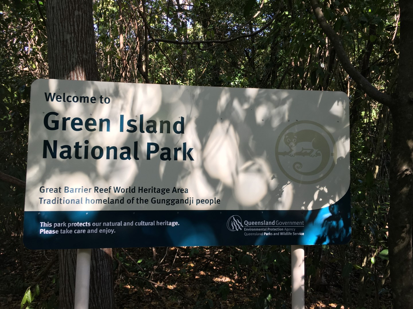 GREEN ISLAND NATIONAL PARK