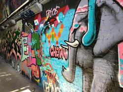 THE GRAFFITI TUNNEL