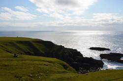 3 - solitudine - scogliera scozzese