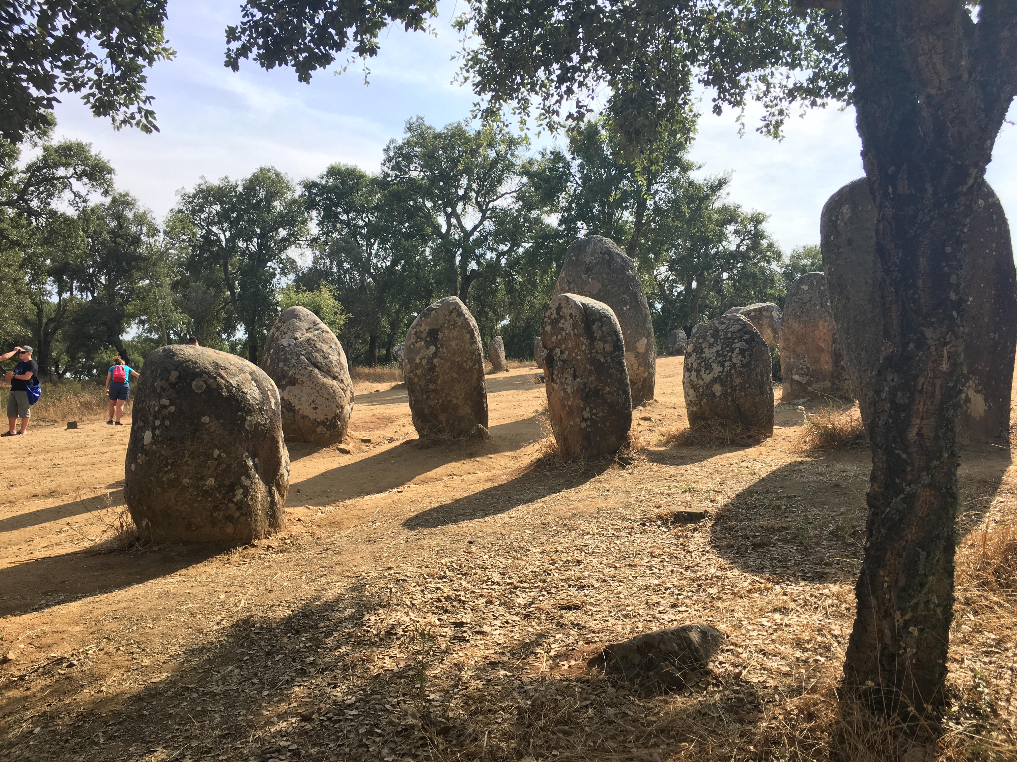 I megaliti di Evora