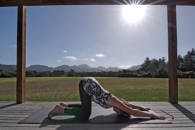 Yin Yoga, Great Barrier Island, Julie Stansfield, Ebb and Flow Yoga