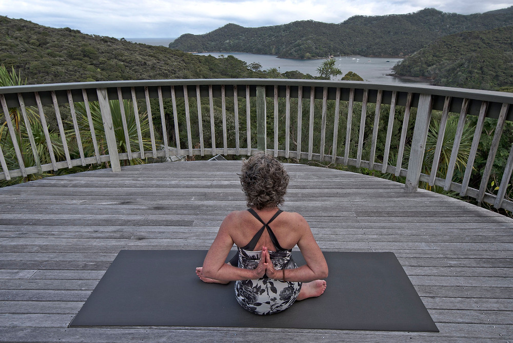 Julie Stansfield, Ebb and Flow Yoga Great Barrier Island