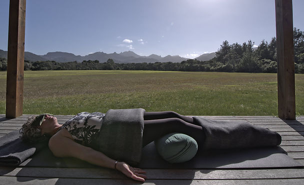 Restorative Yoga, Great Barrier Island, Julie Stansfield, Ebb and Flow Yoga