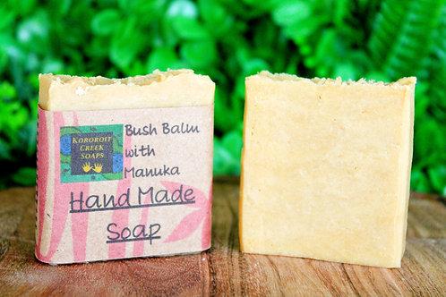Bush Balm Mint with Manuka Honey Soap Bar