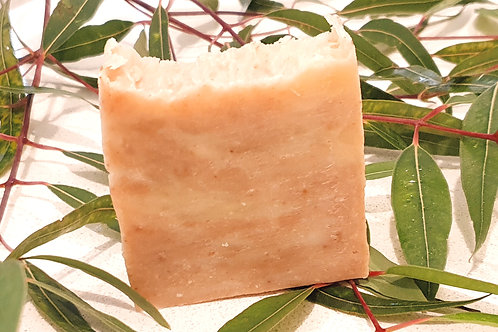 Lemon Myrtle with Ochre Clay Soap