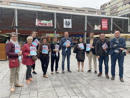 Élections départementales à Villejuif