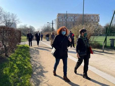 Balade urbaine à Villejuif sur le projet de renouvellement urbain