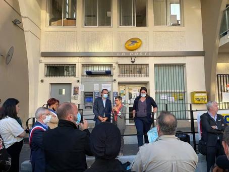 Soutien à la préservation du bureau de poste Léo Lagrange de Villejuif