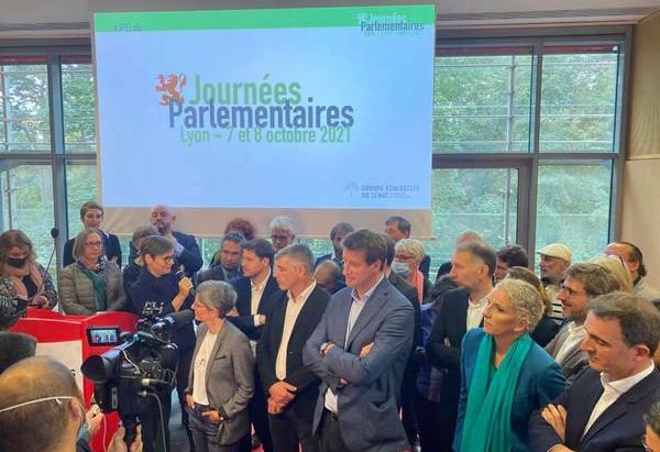 7 et 8 octobre 2021 - Journées parlementaires du groupe Écologiste-Solidarité et Territoires à Lyon