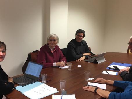 Rencontre avec les délégués du défenseurs des droits présents dans le Val-de-Marne