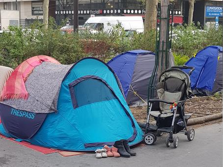 Campements de migrants au Nord de Paris : retour sur mon déplacement