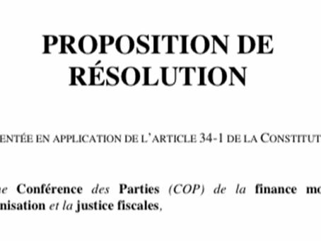 Evasion fiscale et fraude fiscale : le groupe LREM ne semble pas enclin à lutter contre !