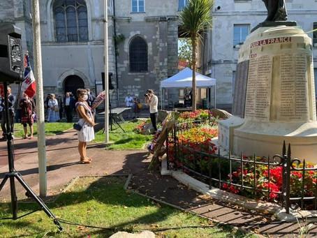 77e anniversaire de la libération de Villejuif