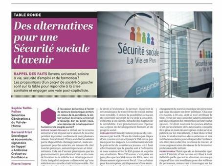Quelles alternatives pour une Sécurité Sociale d'avenir ?